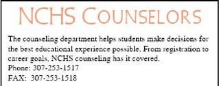 NCHS Counseling